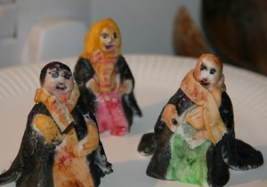 Harry Potter figures made of icing