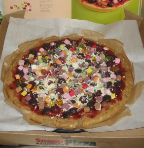 Making Mondays  The Great British Non Bake Pizza Cake Trudy K - Real birthday cake images