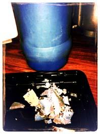 shattered flask