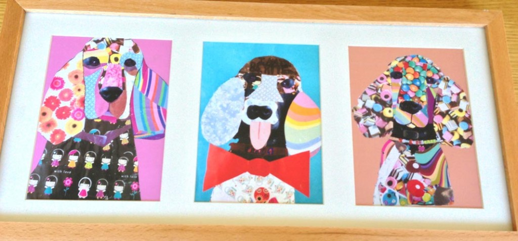 Making Mondays – How to make a pet collage with your children ...